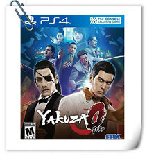 PS4 YAKUZA 0 ENGLISH SONY PLAYSTATION Action Game Sega PREORDER