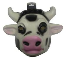 Child Cow Calf Mask Plastic Farm Animal Halloween Costume Accessory