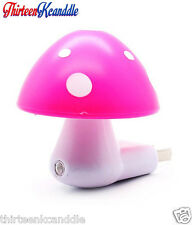 MUSHROOM SHAPED SENSOR PLUG IN NIGHT LAMP LED  HOME DECOR WHOLESALE PRICE SPA