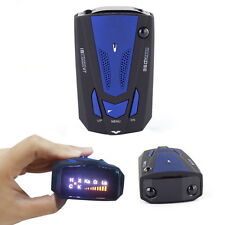 New Car Radar Detector 16 Band Voice Alert Laser V7 LED Display BY