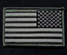 USA AMERICAN REVERSE FLAG TACTICAL ARMY MORALE MILITARY BADGE SWAT VELCRO PATCH