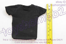 1:6 scale HOT TOYS MMS138 THE EXPENDABLES Barney Ross BLACK TEE