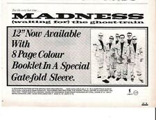 MADNESS Waiting For the Ghost Train UK magazine ADVERT / mini Poster 8x6""