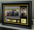 """Jolyon Palmer F1 Renault Framed Canvas Signed Print Limited Edition """"Great Gift"""""""