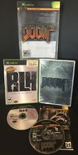 XBOX ✔ DOOM 3 COLLECTORS & RLH RUN LIKE HELL BUNDLE ✔ FULLY TESTED & SHIPS TODAY