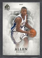 2012-13 SP Authentic Basketball - #14 - Ray Allen - Connecticut Huskies