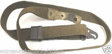 used Spanish cetme FR8 Mauser OD Canvas adjustable Rifle Sling w tab each E6312