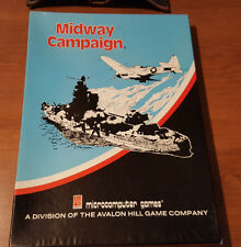 MIDWAY CAMPAIGN - 1980 -  RARE - AVALON HILL -  BOX, INSERT, CATALOGUE ONLY