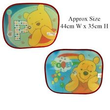 Official Disney Winnie The Pooh Car Sunshades (Pack of Two)