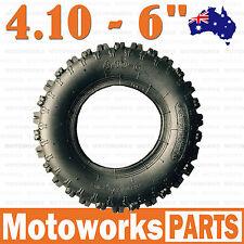 """4.10 - 6"""" inch Knobby Tyre Tire ATV QUAD Bike Gokart Scooter Dune Buggy Mower"""