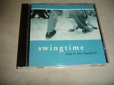 Swingtime Step To Ths Daddy O Pier 1 Imports CD Swing Band Music