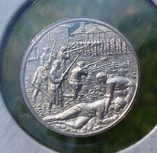 Franklin Mint STERLING SILVER Mini-Ingot: 1786 Shays' Rebellion Against High Tax