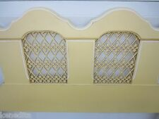 2 or 4 French Twin Size Headboards Provincial Hollywood Regency Beds Pair