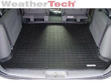 WeatherTech® Cargo Liner Trunk Mat - Dodge Caravan - 2001-2007 - Black