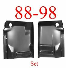 88 98 Front Complete Extended Floor Panel SET, Chevy, GMC, Truck, W/ Back Brace