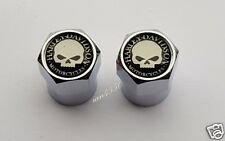 HARLEY DAVIDSON DUST CAPS SPORTSTER SOFTAIL CHOPPER TYRES WHEELS FATBOY FLHRC