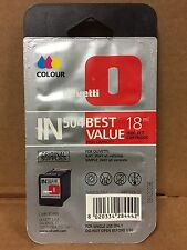 OLIVETTI B0496 IN504 INK JET ORIGINALE COLORE 18ML OLIVETTI ANY WAY/SIMPLE WAY