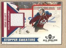 Brian Elliott  2010-11 Panini All Goalies Stopper Sweaters (White)