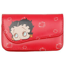 Gnj móvil-bolsa Betty Boop-Kiss grande 12 x 6 x 2cm para iPhone 4/4s