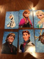 Disney 2013  Frozen Lot of 10 packs NIP 6 Trading Cards per pack