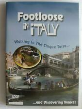 Footloose In Italy - Cinque-Terre And Venice (DVD, 2007) NEW FREE UK FAST POST