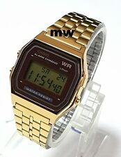 NEW CASIO VINTAGE RETRO DIGITAL GOLD WATCHES A159WGEA-5D JAPAN OLD SKOOL CLASSIC