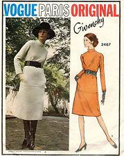1960's VTG VOGUE Paris Original Misses' Dress Givenchy Pattern 2467  14