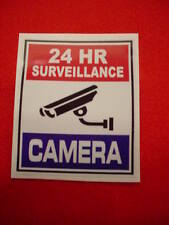 6 SURVEILLANCE SECURITY CAMERA WARNING DECAL/STICKERS for HOME or BUSINESS