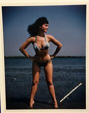 "Original Art Amsie ""Bettie Page"" 8 X 10 photograph stamped (b.p.#07)"