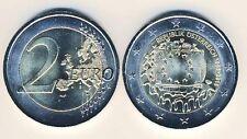 2 Euro Gedenkmünze 2015 Österreich Europaflagge