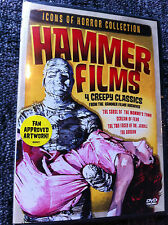 HAMMER FILMS - ICONS OF HORROR- US DVD - Region 1 - Factory Sealed - 4 Movies