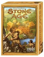 Stone Age [Board Game, 2008, Z-Man Games, 2-4 Players, 60-90 Min, Ages 13+] NEW
