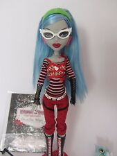 Monster high ghoulia yelps Basic 1. série 1. wave rar top animal de compagnie Journal