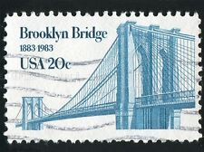 BROOKLYN BRIDGE VINTAGE POSTAGE STAMP USA BROOKLYN BRIDGE ART PRINT BMP606A