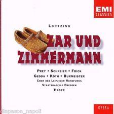 Lortzing: Zar Und Zimmermann / Heger, Prey, Gedda, Frick, Burmeister - CD Emi