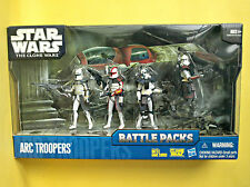 "StarWars The Clone Wars 2010 - ARC TROOPERS ""Battle Packs"""