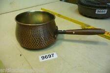 9697. Alter Kupfertopf Kupfer Topf Old copper pot
