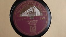 Myra Hess - 78rpm single 12-inch - His Masters Voice #C.3423 Five Bagatelles