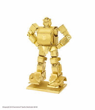 Metal Earth Transformers GOLD Bumblebee Laser Cut 3D Model Kit