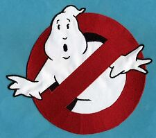 "LARGE Ghostbusters 1 style 8"" [inch] No Ghost Embroidered Patch"