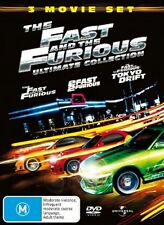 Fast And The Furious - Ultimate Collection(3DVD Movie)New & Sealed,Region: 2 & 4