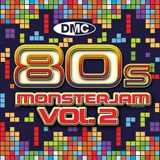New DMC DJ Party 80s Monsterjam Volume 2 Released May 2013 Club Clubber Music CD