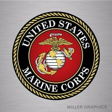 Marine Corps Marines USMC Military decal sticker graphic emblem