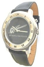 Collectible Metro Police Watch by Sweda/Japan Quartz Movt/Stainless Steel Back