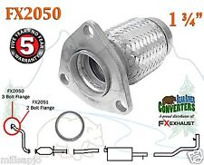 Semi Direct Fit Exhaust Flange Repair Flex Pipe Replacement Kit w/ Gasket FX2050