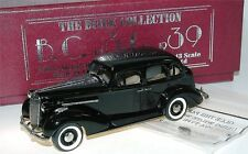BROOKLIN B.C. 13x, 1936 Buick special 4-door sedan m-41, Black, 1/43 Limited 350