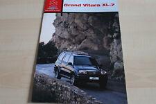 138112) Suzuki Grand Vitara XL-7 Prospekt 02/2002