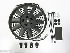 """9"""" / 22cm Universal Radiator Electric Cooling Fan with Fitting Kit (Slimline)"""