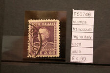 FRANCOBOLLI STAMPS REGNO ITALY USED (F50746)
