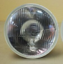 "H4 Headlight SINGLE 7"" Round 180mm Sealed Beam CITY LIGHT E-Code Motorcycle"